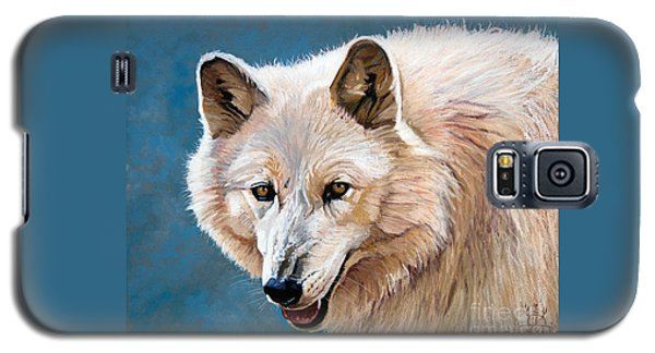 White Wolf Galaxy S5 Case