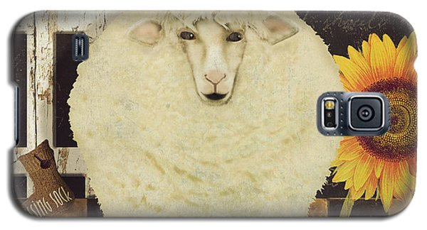 White Wool Farms Galaxy S5 Case by Mindy Sommers
