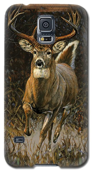 Whitetail Deer Galaxy S5 Case by JQ Licensing