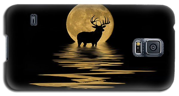 Whitetail Deer In The Moonlight Galaxy S5 Case