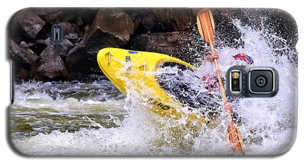 Whitewater On The New River Galaxy S5 Case