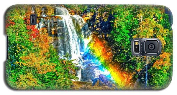 Whitewater Rainbow Galaxy S5 Case