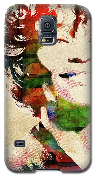 Whitney Houston Galaxy S5 Case