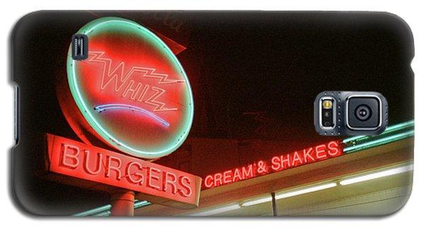Whiz Burgers Neon, San Francisco Galaxy S5 Case