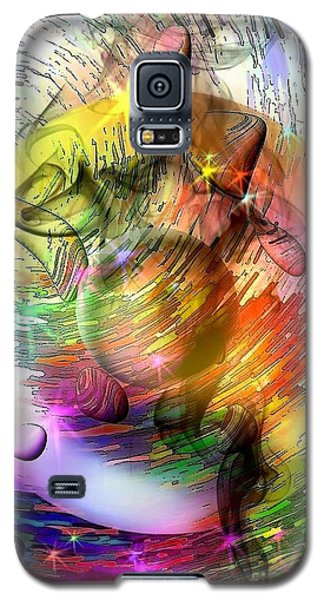 who is already looking into the future by Nicobielow Galaxy S5 Case by Nico Bielow
