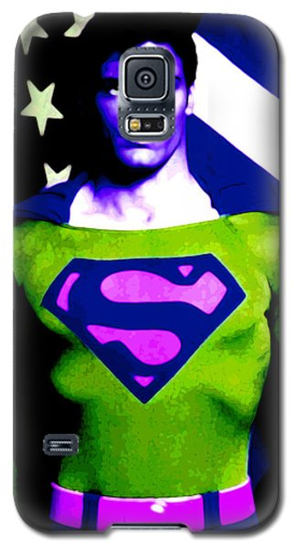 Who Is Superman Galaxy S5 Case by Saad Hasnain