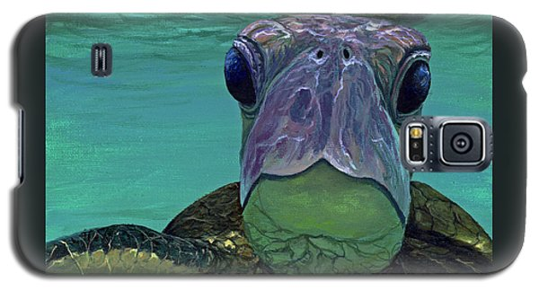Galaxy S5 Case featuring the painting Who Me? by Darice Machel McGuire