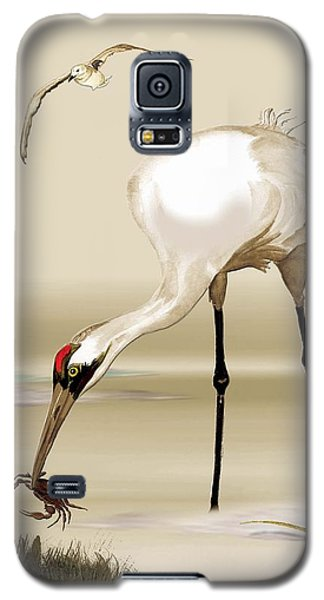 Whooping Crane Galaxy S5 Case