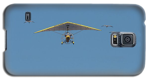Whooping Cranes And Operation Migration Ultralight Galaxy S5 Case