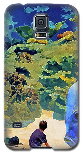 Who's Fishing? Galaxy S5 Case