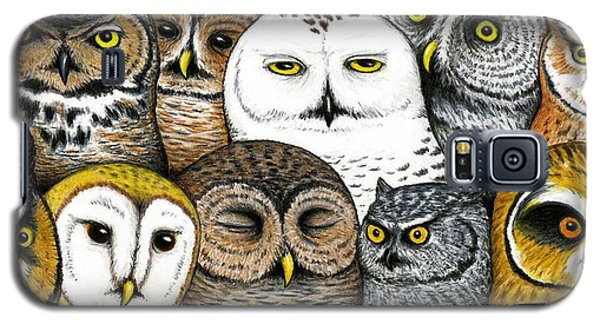 Owl Galaxy S5 Case - Who's Hoo by Don McMahon