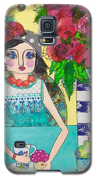 Why Limit Happy To A Hour Galaxy S5 Case by Rosemary Aubut