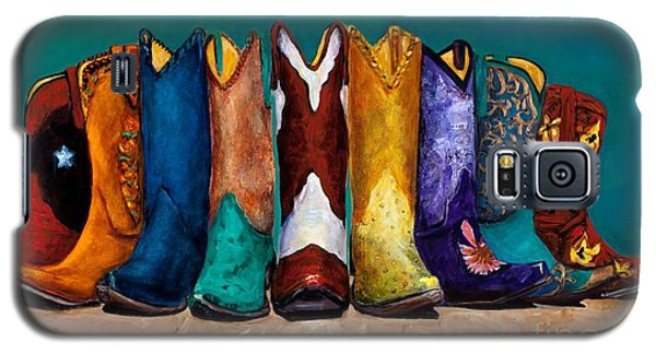Why Real Men Want To Be Cowboys 2 Galaxy S5 Case by Frances Marino