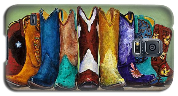 Why Real Men Want To Be Cowboys Galaxy S5 Case