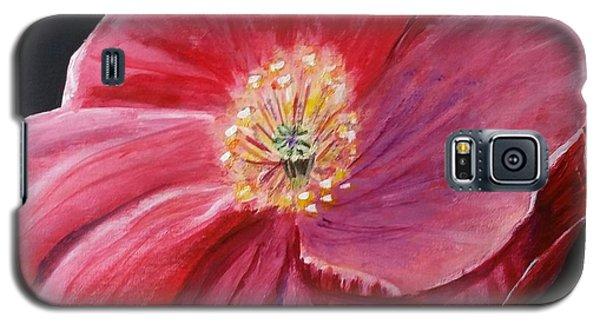 Shirley Poppy Galaxy S5 Case by Carol Duarte