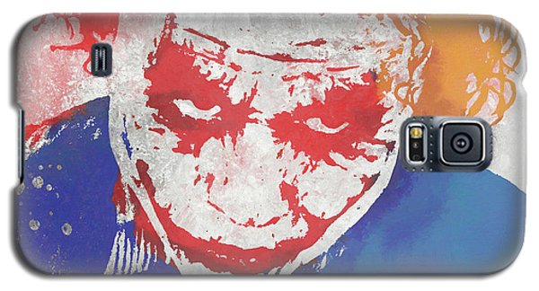 Why So Serious Galaxy S5 Case by Dan Sproul