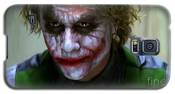 Heath Ledger Galaxy S5 Case - Why So Serious by Paul Tagliamonte