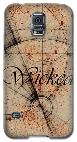 Galaxy S5 Case featuring the digital art Wicked by Cynthia Powell