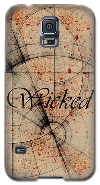 Wicked Galaxy S5 Case by Cynthia Powell
