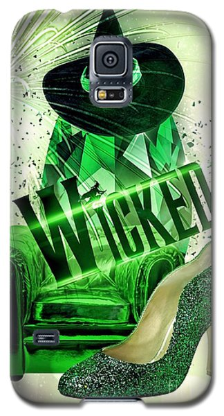 Galaxy S5 Case featuring the digital art Wicked by Mo T