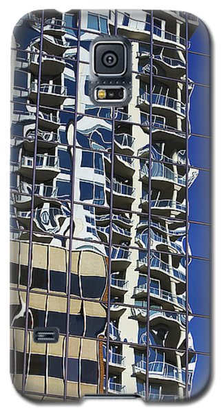 Galaxy S5 Case featuring the photograph Wiggly Balconies by Phyllis Denton