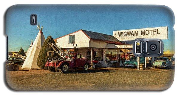 Wigwam Motel Galaxy S5 Case