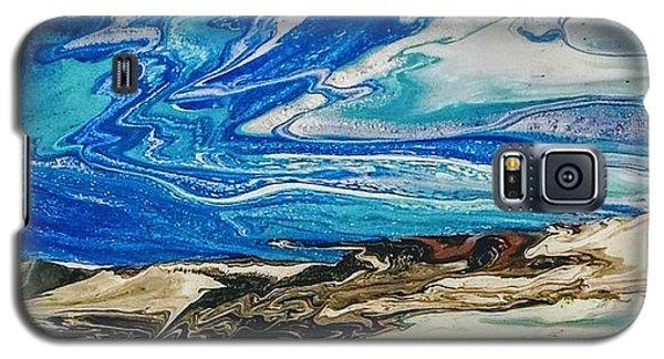 Wiinter At The Beach Galaxy S5 Case