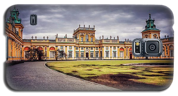 Galaxy S5 Case featuring the photograph Wilanow Palace In Warsaw  by Carol Japp