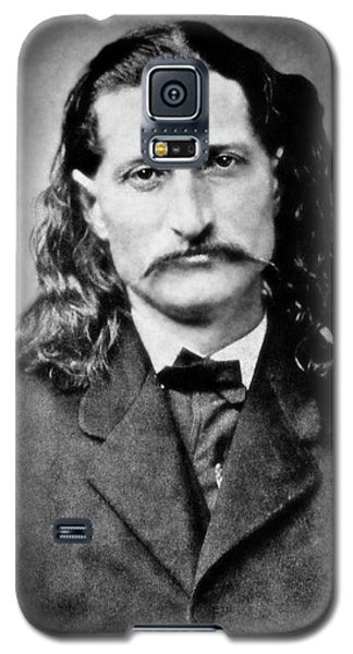 Wild Bill Hickok - American Gunfighter Legend Galaxy S5 Case by Daniel Hagerman