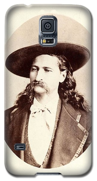 Galaxy S5 Case featuring the photograph Wild Bill Hickok by Pg Reproductions