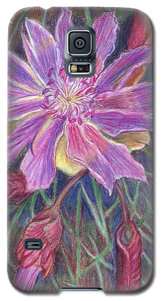Wild Bitterroot Flower Galaxy S5 Case