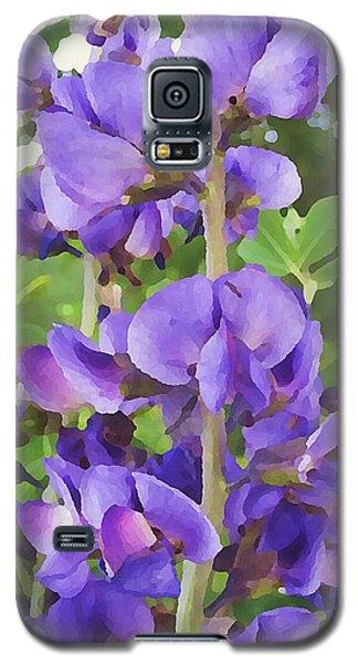 Wild Blue False Indigo Galaxy S5 Case