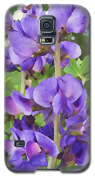 Wild Blue False Indigo Galaxy S5 Case