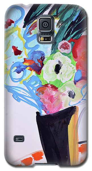Wild Blue Flowers Galaxy S5 Case