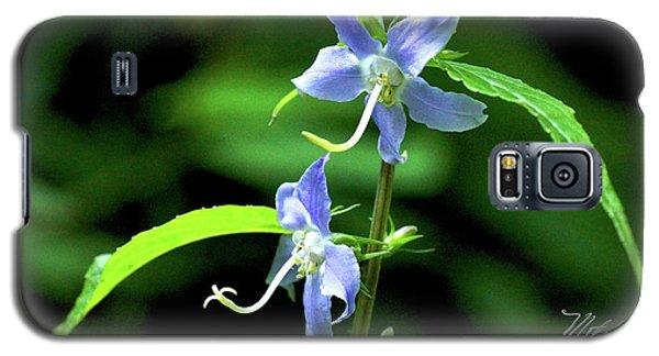 Wild Blue Flowers Galaxy S5 Case