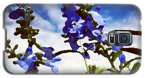 Wild Blue Sage  Galaxy S5 Case