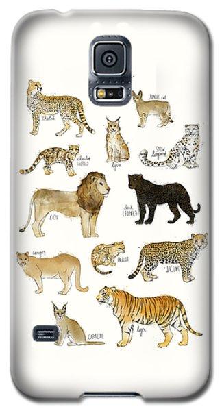 Cheetah Galaxy S5 Case - Wild Cats by Amy Hamilton
