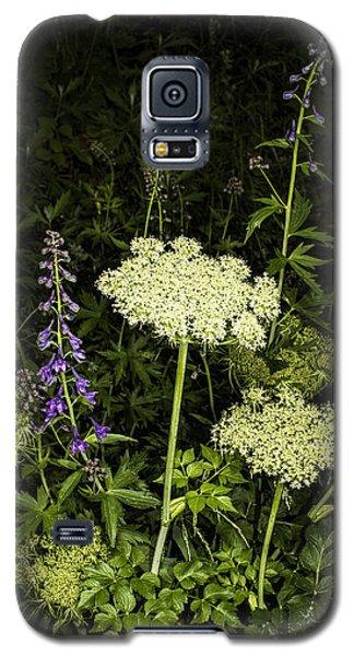 Wild Celery And Larkspur Galaxy S5 Case