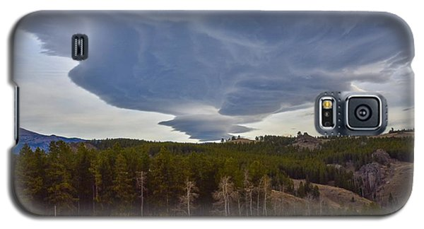 Wild Clouds In The Mountains Galaxy S5 Case