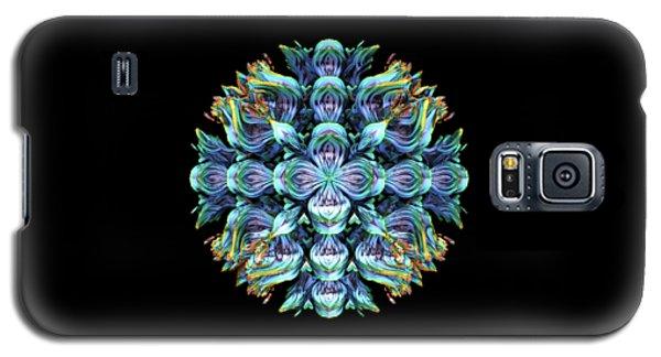 Galaxy S5 Case featuring the digital art Wild Flower by Lyle Hatch