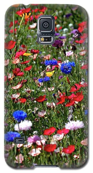 Wild Flower Meadow 2 Galaxy S5 Case