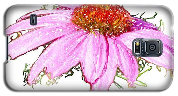 Galaxy S5 Case featuring the photograph  Wild Flower Three by Heidi Smith