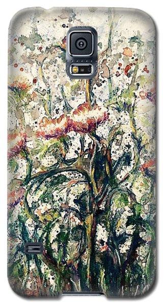 Wild Flowers # 2 Galaxy S5 Case by Laila Awad Jamaleldin