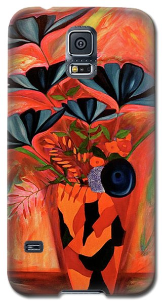 Wild Flowers  A Still Life  Galaxy S5 Case by Iconic Images Art Gallery David Pucciarelli