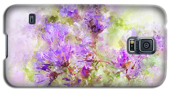 Wild Flowers In The Fall Watercolor Galaxy S5 Case