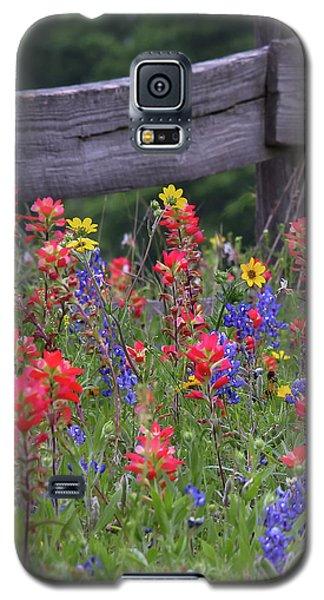 Wild Flowers Galaxy S5 Case