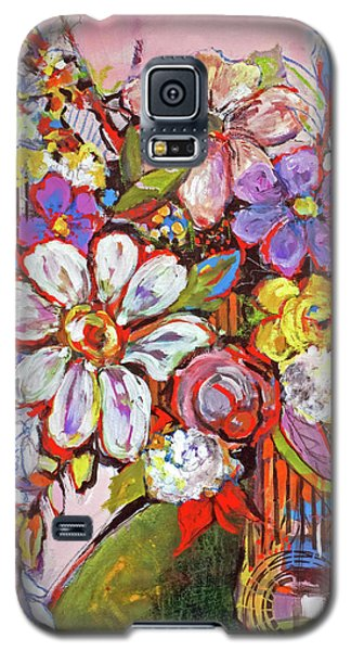 Wild Flowers Galaxy S5 Case by Sharon Furner