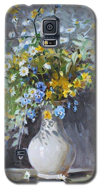 Wild Flowers Galaxy S5 Case by Ylli Haruni