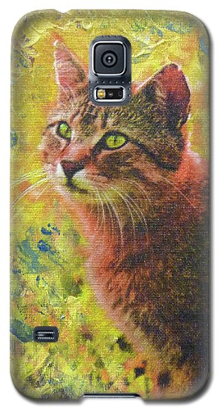 Wild Garden Tabby Galaxy S5 Case