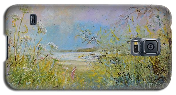 Wild Grasses Of Saugatuck Galaxy S5 Case